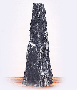 Arctic Blue Marmor Quellstein Nr 90/H 143cm - Bild 02