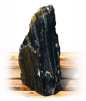 Black Angel Marmor Quellstein Natur Nr 136/H 53cm (Quellsteine) / Bild 2