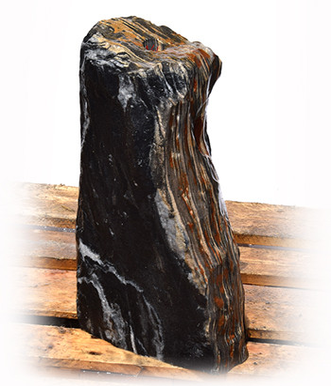Black Angel Marmor Quellstein Natur Nr 144/H 55cm (Quellsteine) / Bild 2