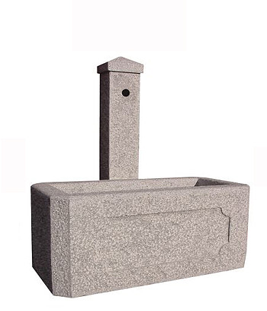 Granitbrunnen Girona (Stilbrunnen) Bild 3