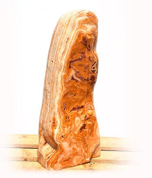 Onyx Marmor Poliert Quellstein Nr 213P/H74cm (Quellsteine)/ Bild 2