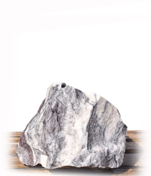 Purple Wave Marmor Quellstein Nr 1F/H 45cm (Quellsteine) / Bild 1