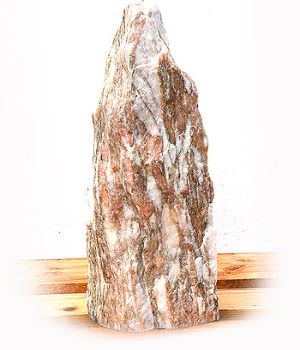 Norwegisch Pink Marmor Quellstein Nr 69/H 56cm