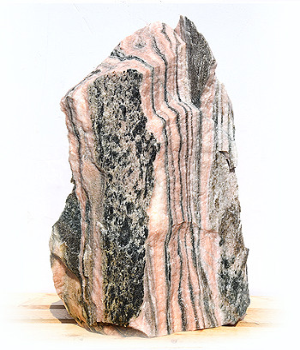Sölker Marmor Quellstein Nr 263/H 84cm - Bild 02