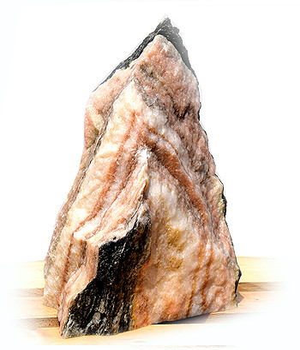 Sölker Marmor Quellstein Nr 284/H 40cm - Bild 02