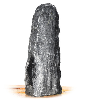 Tiger Black Marmor Quellstein Nr 52/H 74cm 2