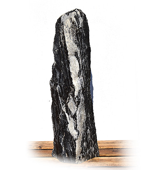 Tiger Black Marmor Quellstein Nr 27/H 130cm/2