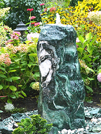 Quellstein Brunnen Set Lappland Green 100