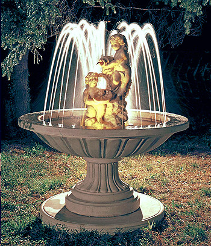 Springbrunnen Fontana Pozzuoli - Bild 03