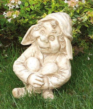 Gartenfigur Statue Troll 4 (Siesta)
