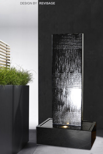 garten wasserwand springbrunnen gartenbrunnen. Black Bedroom Furniture Sets. Home Design Ideas